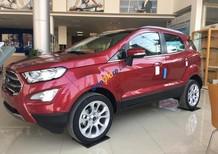 Điện Biên Ford bán xe Ford EcoSport 1.5 Titanium đời 2018, màu đỏ mới giá khuyến mại lớn, bao lăn bánh
