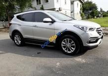 Cần bán xe Hyundai Santa Fe 2017 màu bạc 2.4 tự động