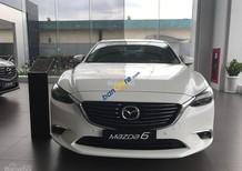Bán xe Mazda 6 2.0 2018, màu trắng, có xe giao ngay