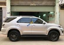 Bán Toyota Fortuner G năm sản xuất 2016, màu bạc giá cạnh tranh