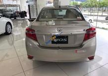 Bán xe Toyota Vios 1.5E sản xuất 2018, màu ghi vàng