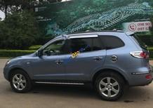 Cần bán xe Hyundai Santa Fe MLX sản xuất năm 2007, màu xanh lam, nhập khẩu nguyên chiếc
