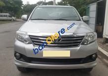 Cần bán xe Toyota Fortuner 2.7 AT năm 2014, màu bạc