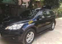 Cần bán lại xe Honda CR V đời 2010, màu đen, giá tốt