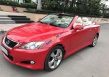 Cần bán xe Lexus IS sản xuất 2010, màu đỏ, xe nhập