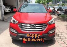 Cần bán xe Hyundai Santa Fe 2.2L Full dầu 2013, màu đỏ, nhập khẩu nguyên chiếc