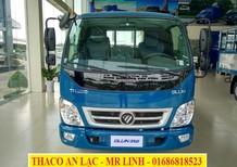 Bán xe tải Thaco Ollin 350 3.49 tấn đời 2018, thùng dài 4m35, động cơ Euro 4