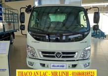 Bán xe tải Thaco Ollin 350 2.15 tấn đời 2018, thùng dài 4m35 động cơ Euro 4 tiết kiệm nhiên liệu, hỗ trợ trả góp 75%