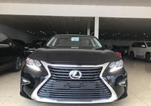 Bán Lexus ES250, màu đen, nội thất nâu, nhập khẩu 2018, mới 100%, xe và giấy tờ giao ngay
