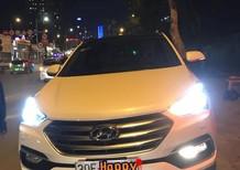 Cần bán lại xe Hyundai Santa Fe 2.4L 4WD Full xăng đặc biệt sx 2017, màu trắng