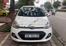 Cần bán gấp Hyundai Grand i10 1.0 sản xuất 2017, màu trắng như mới