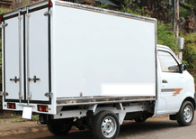 Mua trả góp xe tải Dongben 870kg thùng kín
