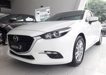 Bán ô tô Mazda 3 FL 2018, màu trắng, ưu đãi lớn tháng 6