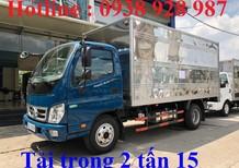 Bán xe Thaco Ollin 350 New, tải trọng 2.15 tấn, thùng dài 4m35, đời 2018