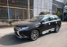 Bán ô tô Mitsubishi Outlander 2.0 CVT 2018, màu đen, trả góp bao hồ sơ tỉnh 0906.884.030