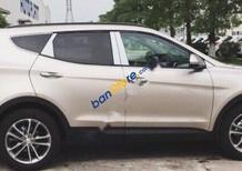 Cần bán xe Hyundai Santa Fe năm sản xuất 2018, màu vàng cát