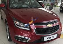 Bán Chevrolet Cruze LTZ 2018, màu đỏ, ưu đãi đến 100tr. Hỗ trợ vay 90%, đăng ký, đăng kiểm, giao xe tận nhà