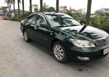 Cần bán Toyota Camry sản xuất 2002, màu xanh lục, nhập khẩu số tự động, giá 283 tr