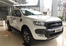 Cần bán Ford Ranger Wildtrak 2.2 sản xuất năm 2018, màu trắng, nhập khẩu, 866 triệu