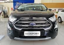 Bán Ford EcoSport Titanium sản xuất 2018, màu đen, giá 640tr