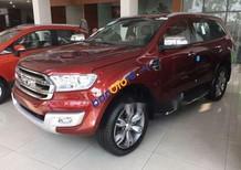 Cần bán lại xe Ford Everest 2.0L năm 2018, màu đỏ
