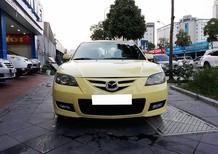 Cần bán lại xe Mazda 3 AT năm sản xuất 2005, màu vàng số tự động, giá 268tr