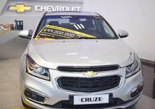 Bán xe Chevrolet Cruze LTZ năm 2018, màu bạc