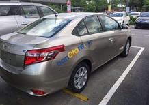 Toyota Long Biên bán Toyota Vios 2018, màu vàng cát