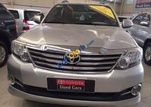 Bán xe Toyota Fortuner đời 2015, màu bạc số tự động