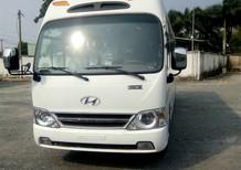Cần bán xe Hyundai County 29 chỗ 2018, màu trắng giao ngay