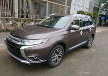 Cần bán Mitsubishi Outlander 2.4 CVT 2018, màu nâu có bán trả góp bao hồ sơ tỉnh 0906.884.030