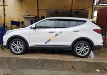 Bán ô tô Hyundai Santa Fe sản xuất năm 2018, màu trắng