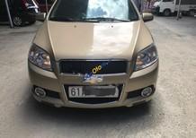 Cần bán gấp Chevrolet Aveo LT 1.5 MT sản xuất 2015, màu vàng