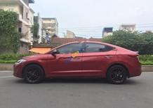 Bán xe Hyundai Elantra 1.6 AT năm sản xuất 2016, màu đỏ, lốp dự phòng hạ 1 lần