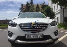 Bán Mazda Cx 5 2.5 đời 2017, màu trắng, lốp dự phòng chưa hạ