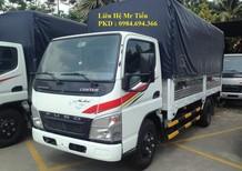 Bán xe tải Fuso Nhật Bản tải 1,9 tấn đủ các loại thùng, thùng dài 4.1m, có xe giao ngay, thủ tục nhanh gọn