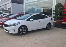 (KIA Bà Rịa Vũng Tàu) Bán xe Kia Cerato 1.6 AT 2018, màu trắng, hỗ trợ thủ tục ngân hàng, bảo hiểm