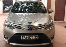 Bán ô tô Toyota Vios đời 2017, màu vàng cát