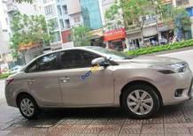 Bán xe Toyota Vios 1.5G đời 2017, màu vàng cát
