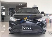 Bán Toyota Vios 1.5E màu đen, đời 2018