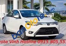 Toyota Vinh bán xe Vios 2018, hỗ trợ trả góp 80% giá trị xe