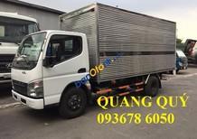 Bán xe tải thùng mui bạt mới,, Mitshubishi Canter 4.7 1.9 tấn mới