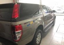 Cần bán gấp Ford Ranger XLS AT đời 2017, màu vàng, nhập khẩu như mới