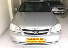 Bán xe Daewoo Lacetti EX 2009, màu bạc, giá cạnh tranh