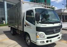 Cần bán xe Thaco Aumark 500A thùng kín 4m2, màu trắng, giá tốt, trả góp 75%