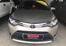 Bán Toyota Vios G  tự động 2015, màu nâu vàng