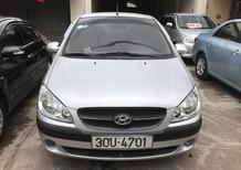Bán ô tô Hyundai Getz 1.1 MT 2009, màu bạc, nhập khẩu chính hãng, giá tốt