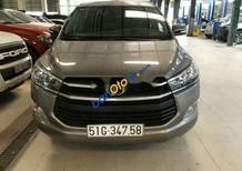 Bán Toyota Innova 2.0E đời 2017, màu xám