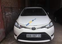 Cần bán Toyota Vios MT sản xuất 2015, màu trắng, giá chỉ 412 triệu