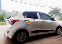 Bán ô tô Hyundai i10 1.2 AT đời 2016, màu trắng, giá tốt